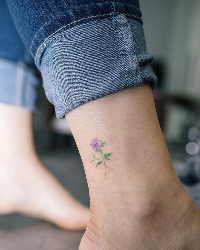 Rose of sharon tattoo