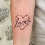 Lover tattoo