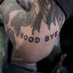 Good bye tattoo