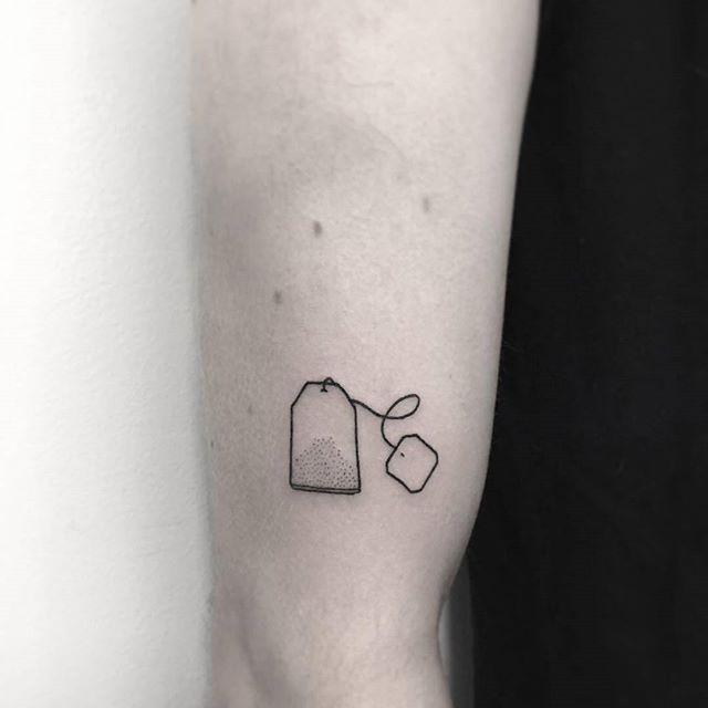 Teabag tattoo