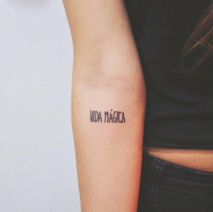 Vida magica tattoo