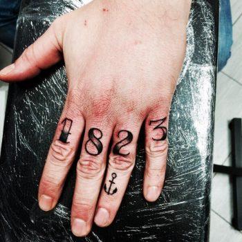1823 date tattoo