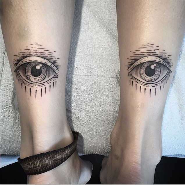 Eyes tattoos