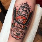 In friends we trust tattoo