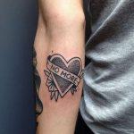 No more tattoo