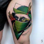 Robin hood tattoo