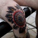 Traditional cool mandala tattoo