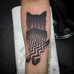 Twin peaks red room tattoo
