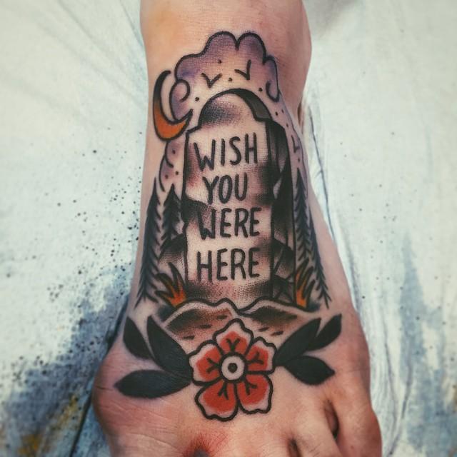 Wish you were here tattoo
