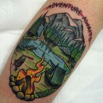 Adventure awaits tattoo