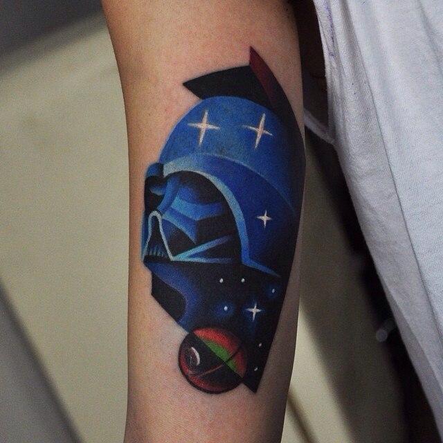 Darth wader tattoo
