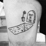 Dont be sad tattoo