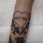 Love not you tattoo