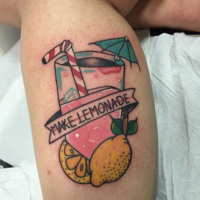 Make lemonade tattoo
