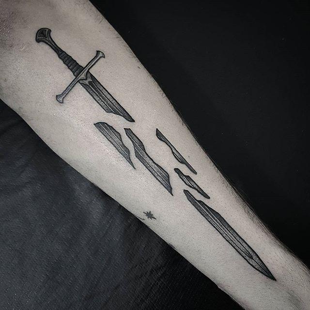 Narsil tattoo