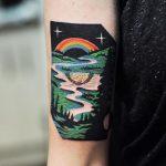 River tatoo