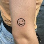 Smile tattoo