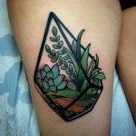 Terrarium tattoo
