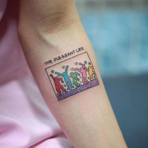 The pleasant life tattoo