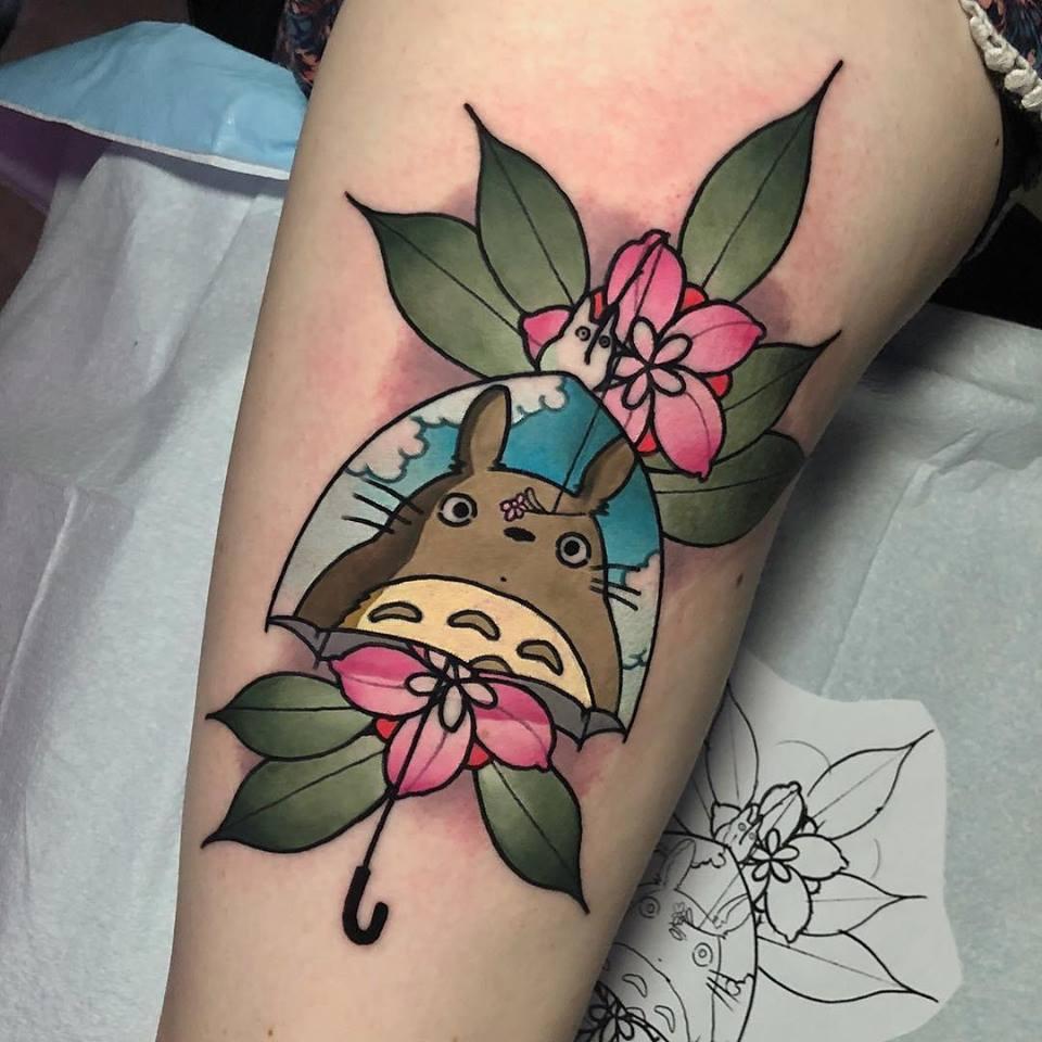 Totoro tattoo