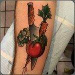 Vegan tattoo idea