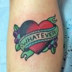Whatever tattoo
