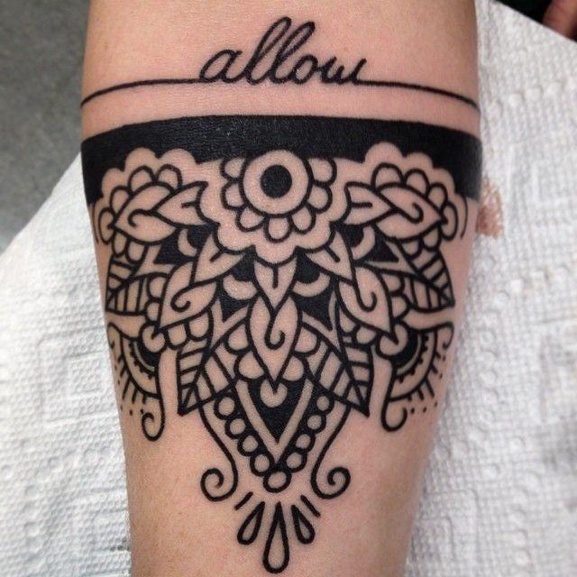 Allow tattoo