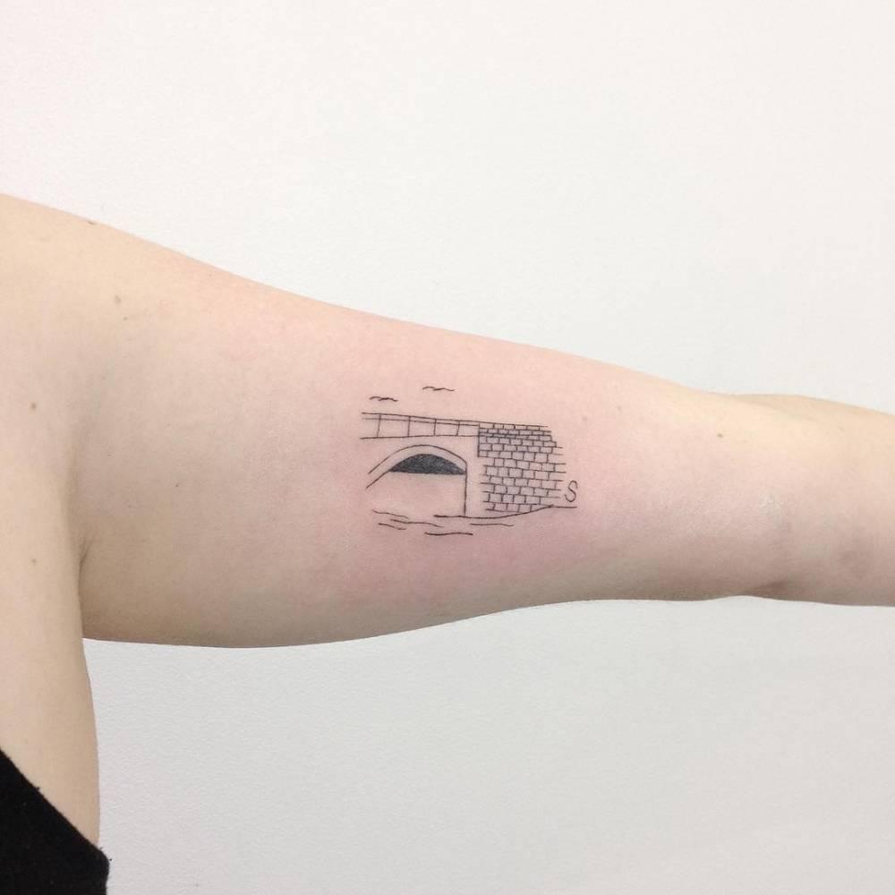 Bridge tattoo