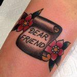 Dear friend tattoo