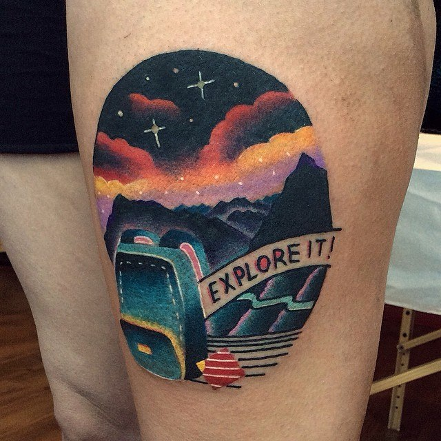 Explore it tattoo