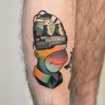 Homer simpson tattoo