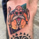 Master roshi tattoo