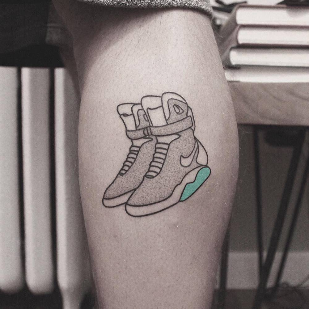 Nike air max tattoo