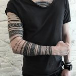 Ornamental pattern armbands