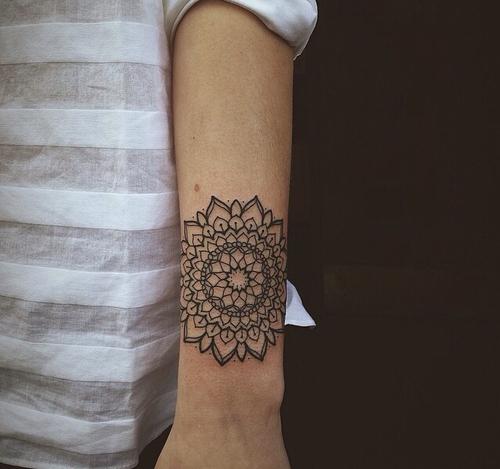 Simple and beautiful mandala