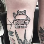 Sleepyhead tattoo