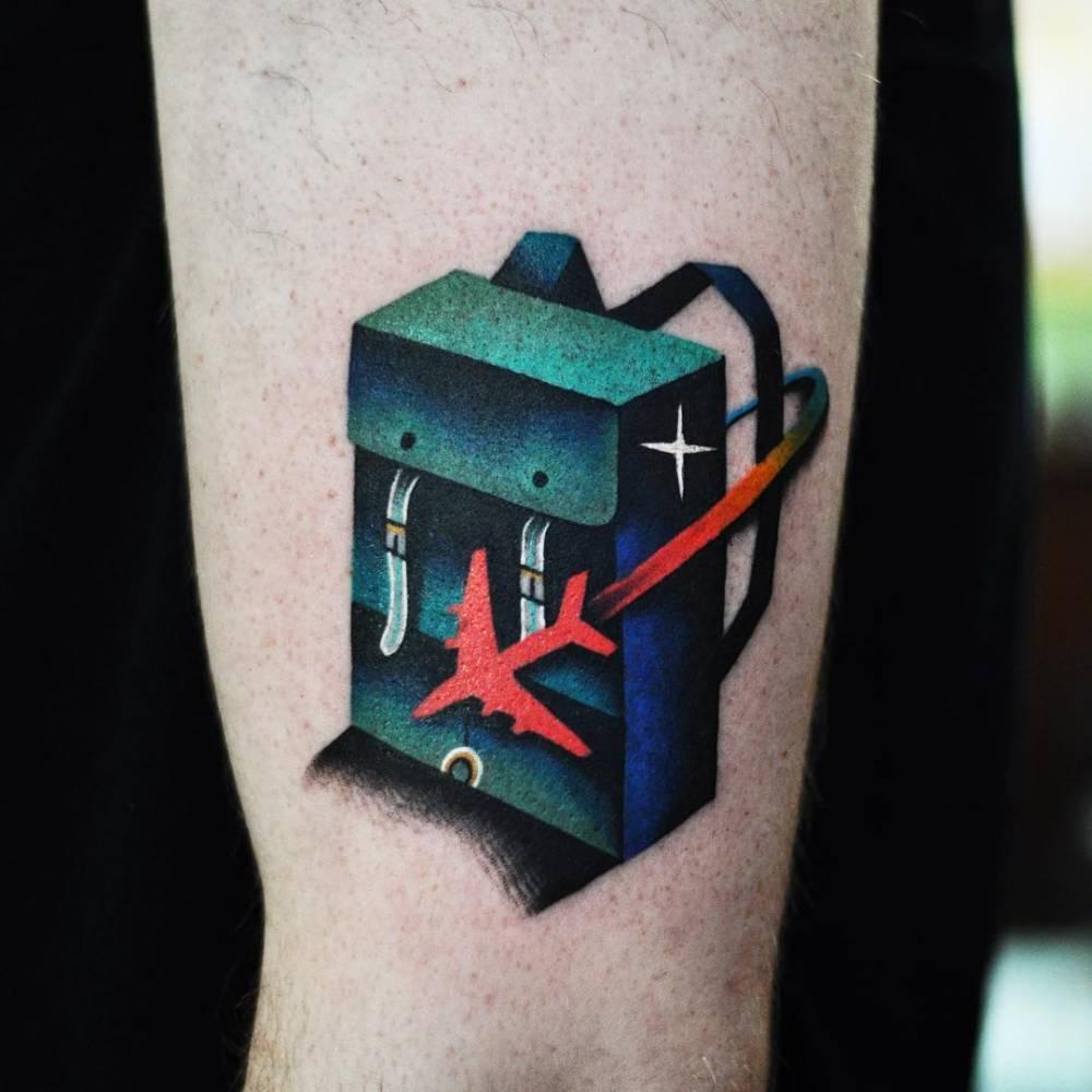 Travelers tattoo