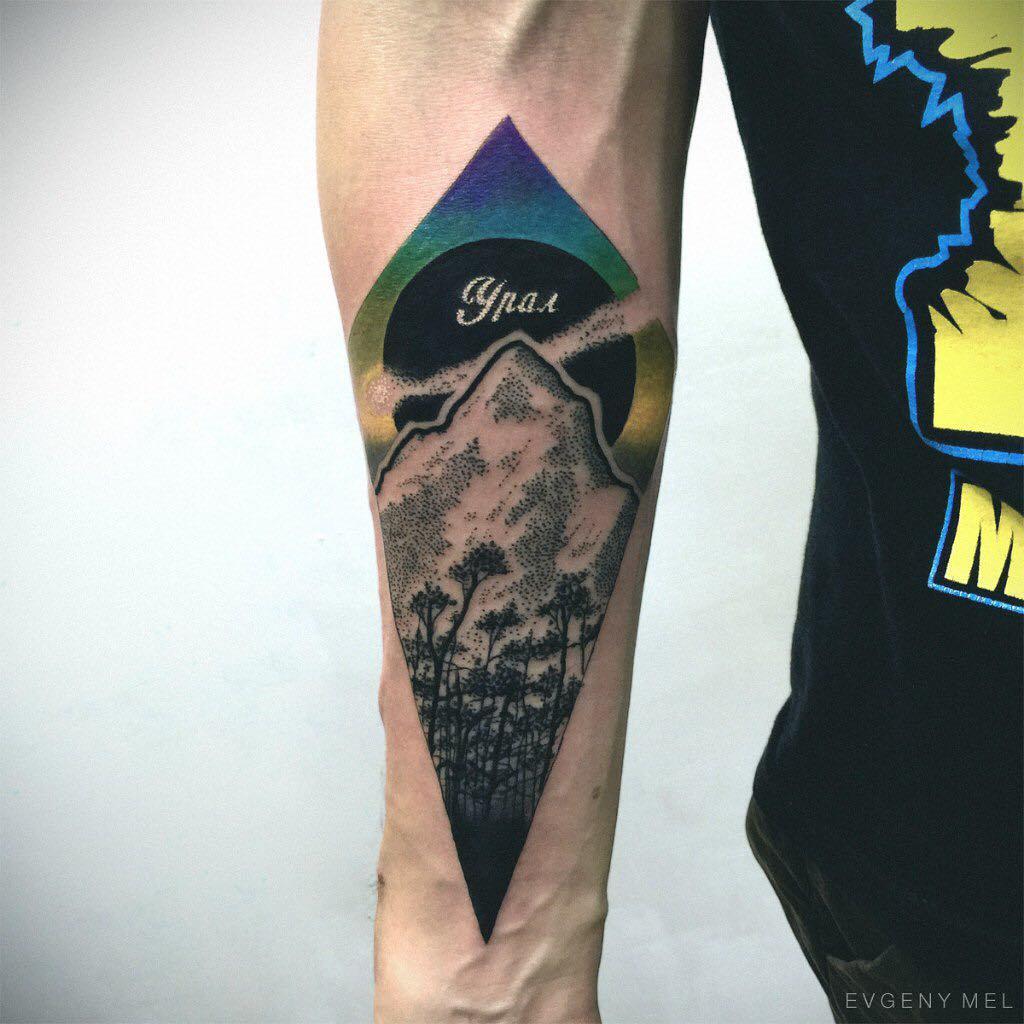 Ural mountain tattoo