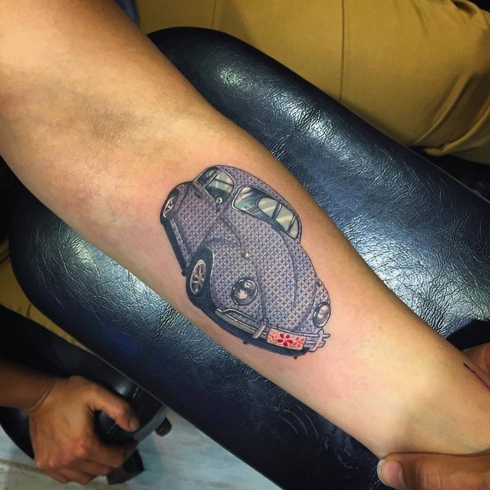 Vw beetle tattoo