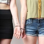 You and me times infinity tattoo