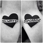 Always tomorrow matching tattoos