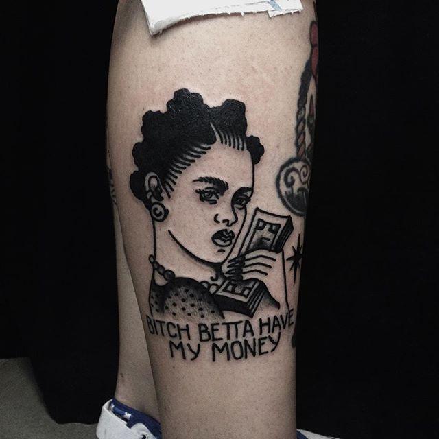 Tattoos money Money Tattoos