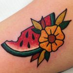 Crisp watermellon tattoo