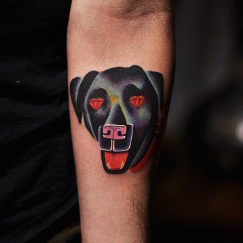Diamond dog tattoo