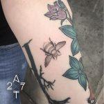 Dotwork bee