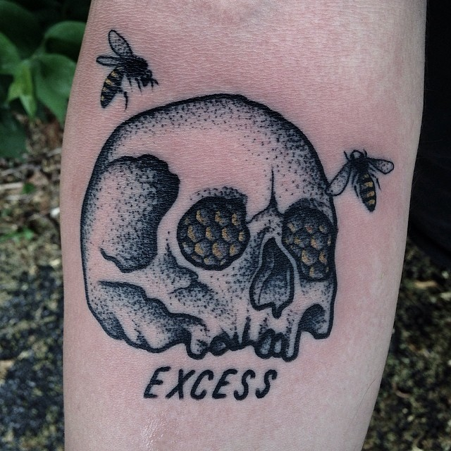 Excess tattoo