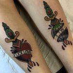 Fuck love ftw tattoo