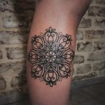 Gorgeous stylized mandala