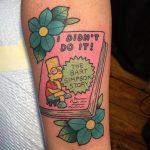 I didn't do it tattoo