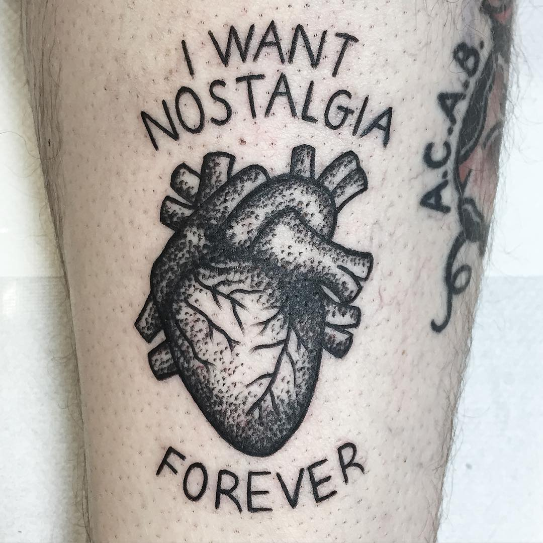 I want nostalgia forever